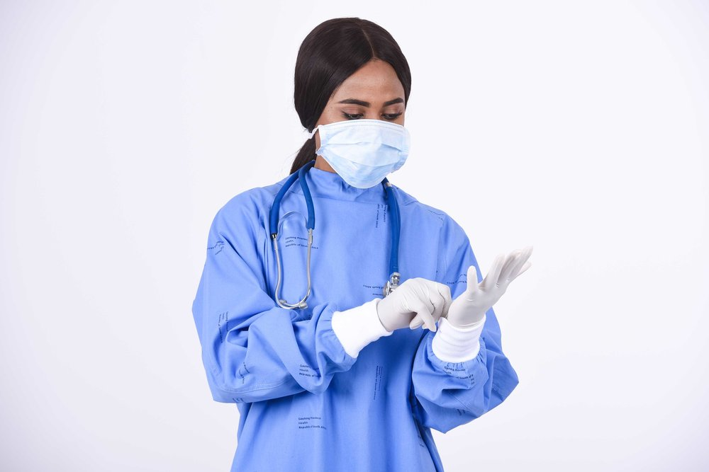 پارچه اسپان باند برای گان پزشکی و لباس بیمار
